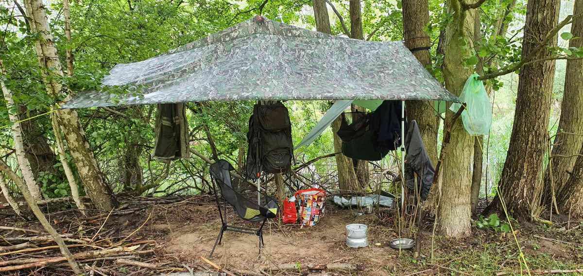 Das Insel-Feld-Indianer-Lager